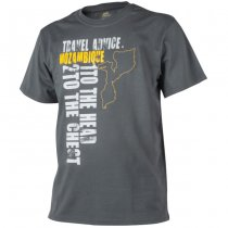 Helikon T-Shirt Travel Advice: Mozambique - Shadow Grey - 2XL