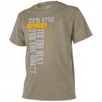 Helikon T-Shirt Travel Advice: Mozambique - Khaki - S