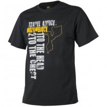 Helikon T-Shirt Travel Advice: Mozambique - Black - 3XL