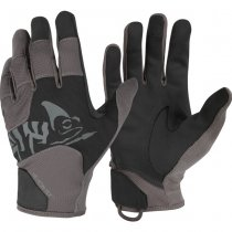 Helikon All Round Tactical Gloves - Black / Shadow Grey A