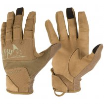 Helikon Range Tactical Gloves - Coyote / Adaptive Green A - XL