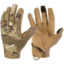 Helikon Range Tactical Gloves - Multicam / Coyote A - 2XL