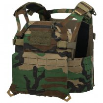Direct Action Spitfire Plate Carrier - Woodland - M