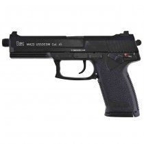 KWA H&K MK23 Gas Blow Back Pistol - Black
