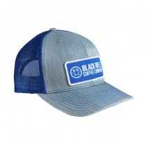 Black Rifle Coffee Classic Company Logo Patch Hat - Blue / Grey