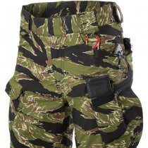 Helikon Urban Tactical Pants - PolyCotton Stretch Ripstop - Tiger Stripe - S - Regular
