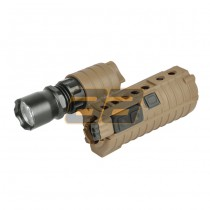 Element eM500A M4 Handguard Weapon Light - Tan