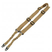 Tactical 2-Point Bungee Sling - Tan