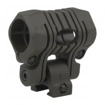 Element 5 Positions Flashlight Mount - Black