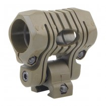 Element 5 Positions Flashlight Mount - Tan