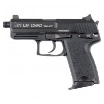 KWA H&K USP Compact Tactical Gas Blow Back Pistol - Black