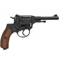 WinGun M1895 Nagant Full Metal CO2 Revolver - Black