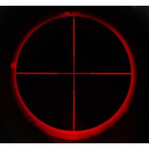 Aim-O 8-32x50E SF Red & Green Reticle Rifle Scope - Dark Earth